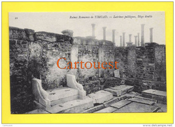 Algérie (Batna) TIMGAD - Ruines Romaines Latrines Siège Double TOP - Batna