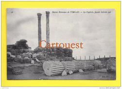 Algérie (Batna) TIMGAD - Ruines Romaines Le CAPITOLE  SUD TOP - Batna