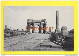 Algérie (Batna) TIMGAD - Ruines Romaines  L Arc Trajan TOP - Batna