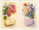 2 C.P.A.- Vive Saint Valentin -  Série N°425 - Valentijnsdag