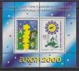 Europa Cept 2000 Northern Cyprus M/s ** Mnh (25534K) - Europa-CEPT