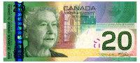 CANADA 20 DOLLARS 2011 Pick 103h Unc - Canada