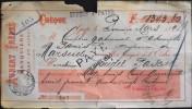 FR 1894 - CHEQUE De AUBERT FRERES BANQUIERS à GAP ( Htes-Alpes ) En L'Etat - - Chèques & Chèques De Voyage