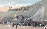 Denver And Rio Grande R.R. Depot Salida - Train Station Tren Locomotive - Colorado - 2 SCANS - Denver