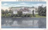 Historical Building And Lake - Delaware Park - Buffalo - New York - 2 SCANS - Buffalo