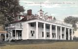 Mt. Vernon Mansion The Home Of Washington, Mt. Vernon - 2 SCANS - Etats-Unis