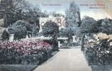 Pyle´s Residence - Showing Italian Garden - Morristown - 2 SCANS - Etats-Unis