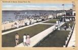 Boardwalk Et Beach - Ocean View - Norfolk - 2 SCANS - Norfolk