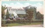 Saint St George Episcopal Church - Sea Bright - 2 SCANS - Etats-Unis
