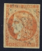 France: Yv Nr 48 Obl. Used  2x Signed/ Signé - 1870 Ausgabe Bordeaux