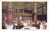 Main Dining Room Hotel Statler - Buffalo - New York - 2 SCANS - Cafés, Hôtels & Restaurants