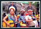 SURINAM  -  Indigenous Musicians  Used Postcard As Scans - Surinam