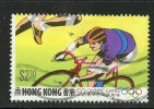 Hong Kong 1992 $2.30 Cycling Issue #628 - Used Stamps