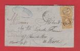 Lettre //  De Paris  //  Pour Le Havre   //  1 Juin 1864 - 1849-1876: Période Classique