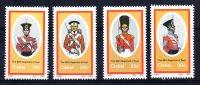 Ciskei - 1986 - British Military Uniforms (3rd Series) - MNH - Ciskei