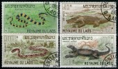 LAOS: N°167/170 Oblitérés       - Cote 7,20€ - - Laos