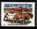 Aland Islands 1988 2.20o Farm School Issue #30 MNH - Aland