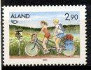 Aland Islands 1991 2.90o Cycling Issue #61 MNH - Aland