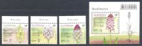 New 2015 Flora Flowers Orchids Orchidee MNH ** Lady Orchid Orchis Purpurea Pallens Simia Ustulata - Orchideen