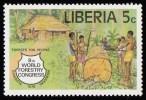 LIBERIA - Scott #826 The 8th World Forestry Congress, Jakarta / Mint NH Stamp - Liberia