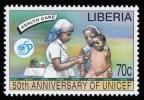 LIBERIA - Scott #1218 The 50th Anniversary Of UNICEF / Mint NH Stamp - Liberia