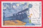 "50 Francs ""St Exupéry"" 1994 N. J  027632615 Dans L ´état - 50 F 1992-1999 ''St Exupéry''"