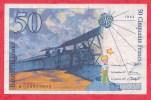 """50 Francs """"St Exupéry"""" 1994 N. R 026993652 (coupure à 11h50) Dans L ´état - 50 F 1992-1999 ''St Exupéry''"""