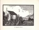 1938 - Gravure Sur Bois De Maurice Besson - Annecy : La Chapelle De Gévrier - FRANCO DE PORT - Estampes & Gravures
