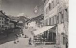 CPSM GRUYERES (Suisse-Fribourg) - Vue Générale Centre - FR Fribourg