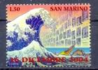 SAN MARINO  (WER 1117)  TSUNAMI - Nature