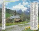 Calendrier Des Postes 1986 Département 01 - Tamaño Grande : 1981-90