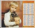 Calendrier Des Postes1980  Département 69 - Calendriers