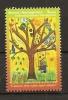 BOSNIA AND HERZEGOVINA  2015,CHILDREN STAMP,TREES,PAINTING,,,MNH - Bosnia And Herzegovina