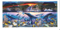Hawaii - 3 Cards In Folder - HAW-88 - HAW-89 - HAW-90 - Lahaina Puzzle Whales Series - MINT - Hawaii