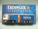 Worlein - SEMI-REMORQUE Camion MAN Bières ERDINGER Neuf NBO HO 1/87 - Véhicules Routiers
