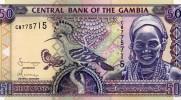 GAMBIE : 50 Dalasis 2001 (unc) - Gambia