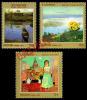 2013 -  Russia Rußland Rusland Russie Rusia - Contemporary Russian Modern Art Series Mi 1935-1937 MNH ** - Unused Stamps