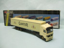 High Speed / Dickie - Semi-remorque MERCEDES BENZ ACTROS Camion Bières Ganter HO 1/87 - Véhicules Routiers