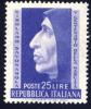 Girolamo Savonarola - 1952 - 25 Lire Violetto (Sassone 696MG) MNH** - 6. 1946-.. Republic