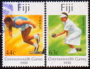 FIJI 1998 SG #1026-27 Part Set First 2 Stamps Of 4 Used 16th Commonwealth Games - Fidji (...-1970)