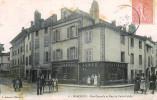 Marcigny - 1906 - Rue Centrale Et Rue Du Poids Public - Magasin Armes GAUTHIER - Commerce TREILLE - Bucette - Unclassified
