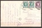 = Postkarte Von 1924 = - Belgien