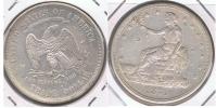 EE.UU USA TRADE DOLLAR 1874 PLATA SILVER U - Emissioni Federali