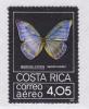 COSTA RICA AERIENS N°  744 ** MNH Neuf Sans Charnière, TB (D594) Insectes, Papillon - Costa Rica