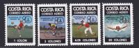 COSTA RICA AERIENS N°  764 à 767 ** MNH Neufs Sans Charnière, TB (D585) Sports, Jeux Olympiques De Moscou - Costa Rica