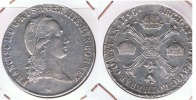 AUSTRIA TALER 1795 MILAN PLATA SILVER U2 BONITO - Austria