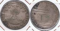 BOLIVIA 8 SOLES POTOSI 1838 BOLIVAR PLATA SILVER U - Bolivia