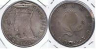 COLOMBIA CUNDINAMARCA BOGOTA 8 REALES 1821 PLATA SILVER U - Colombia