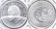 ESPAÑA JUAN CARLOS I 1000 PESETAS CANOVAS 1997 PLATA SILVER U - España