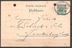 Deutsches Reich  - Ganzsache/Postkarte - Siehe Scann - Deutschland